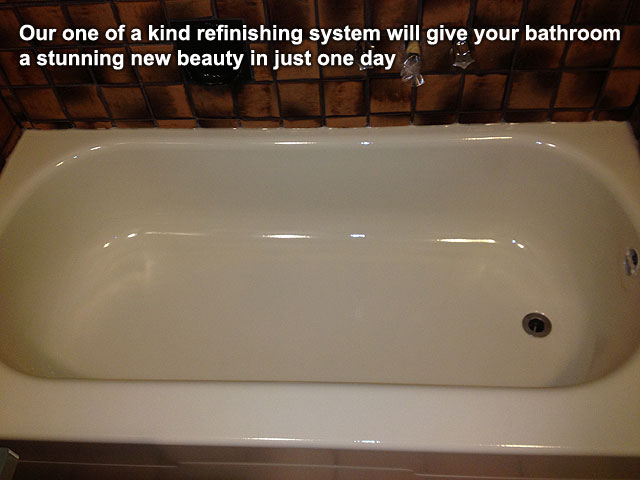 a beautiful bathtub refinished in Kelowna